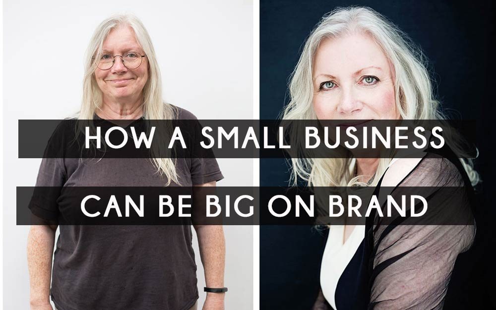 How a small business can be big on brand