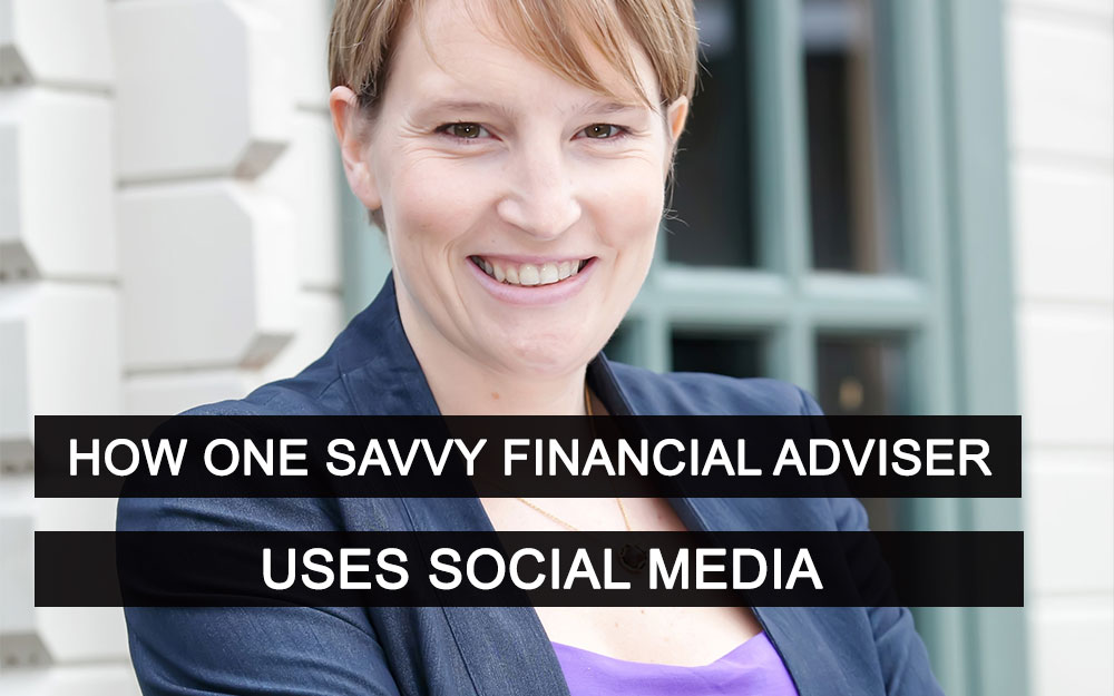 How One Savvy Financial Adviser Uses Social Media