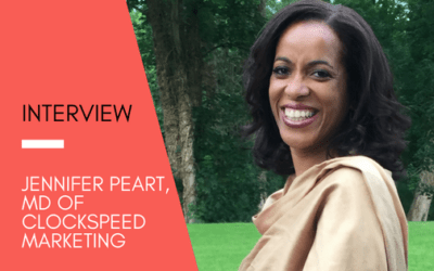 Get Inspired: Sanzen Digital talks to Jennifer Peart, MD Of ClockSpeed Marketing