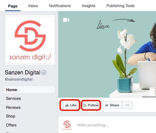Facebook Likes and follow buttons